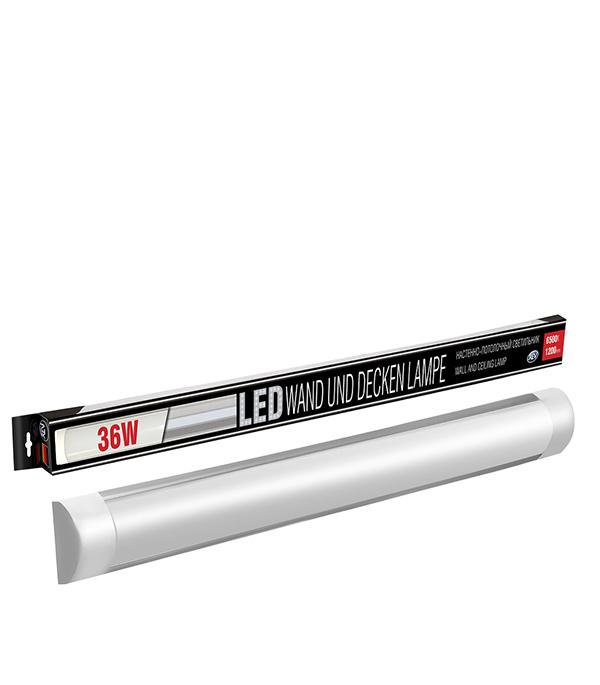 Светильник светодиодный REV 36Вт 6500K холодный свет 1200мм светильник светодиодный led rev ssp line 36вт ip65 6500k герметичный