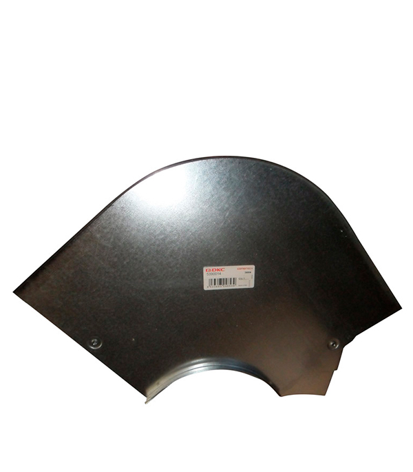 Крышка на угол горизонтальный 90° ДКС для лотка 200х50 мм ответвитель т образный горизонтальный для лотка 200х50 дкс