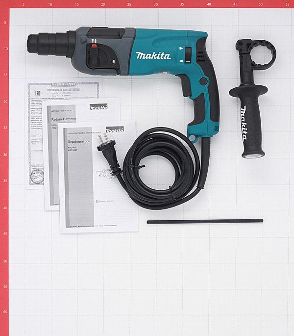 Перфоратор электрический Makita HR2460 780 Вт 2,7 Дж SDS-plus фото