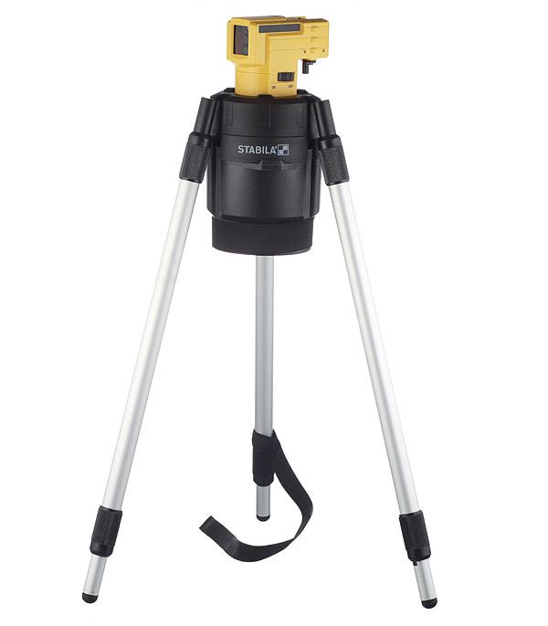 Нивелир лазерный Stabila LAX-50 с штативом уровень нивелир лазерный lax 50 – штатив 10 м stabila стандарт