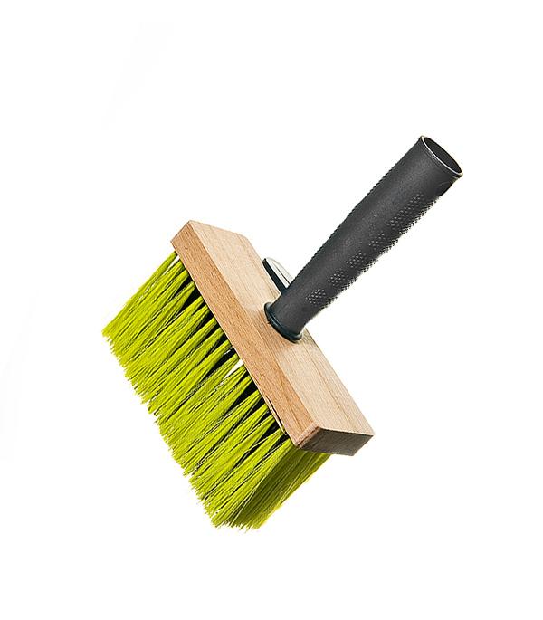 Кисть макловица 140х52 мм искусственная щетина деревянный корпус макловица fly profi натуральная щетина 30 х 100 мм