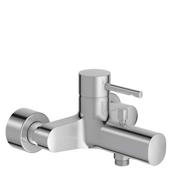 Купить Смеситель для ванны и душа JACOB DELAFON CUFF E45532-CP с коротким изливом без лейки