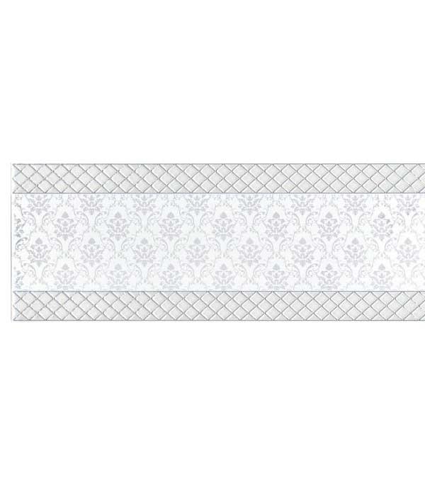 Плитка декор Уайтхолл 150х400 мм белый декор kerama marazzi ньюпорт stg b207 15016 корабли зеленый 15x40