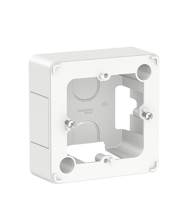 Коробка для наружного монтажа Schneider Electric Blanca белый clippasafe защита для розеток clippasafe белый