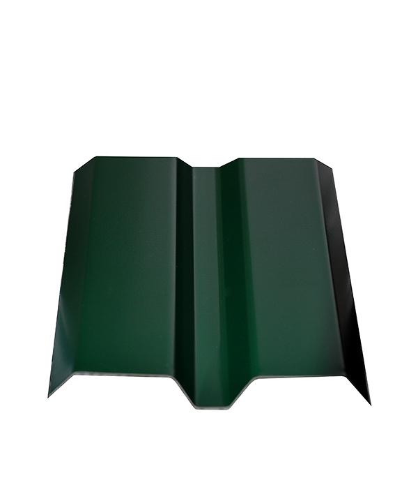 Купить Евроштакетник толщина 0, 4 мм 87х2000 мм зеленый, Зеленый, Сталь