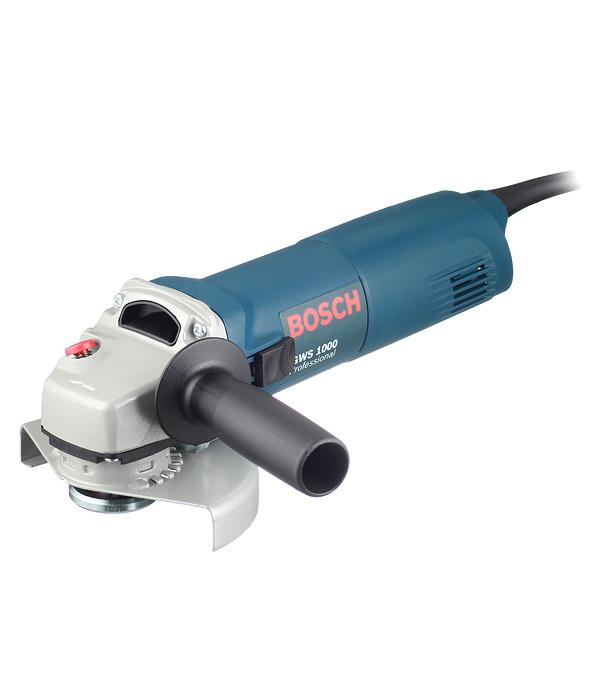 цена на Шлифмашина угловая Bosch GWS 1000 1000 Вт 125 мм
