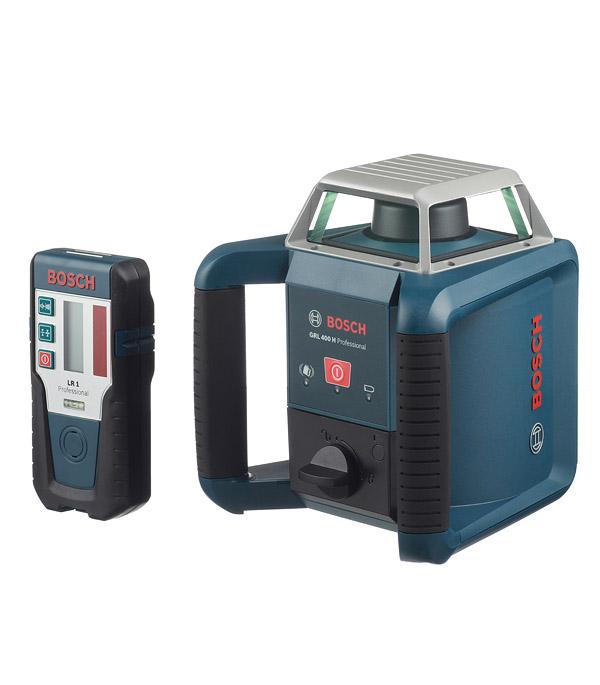 Нивелир лазерный Bosch GRL 400 H Set ротационный нивелир лазерный ротационный bosch grl 500 h lr 50 0 601 061 a00