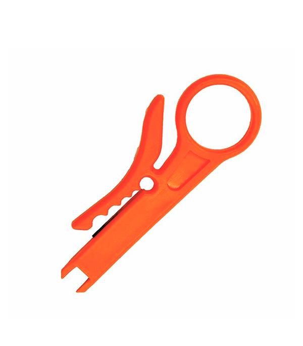 Инструмент для заделки и обрезки витой пары MINI (HT-318M) (TL-318M) REXANT инструмент для заделки витой пары hyperline ht 3640r нож в комплект не входит