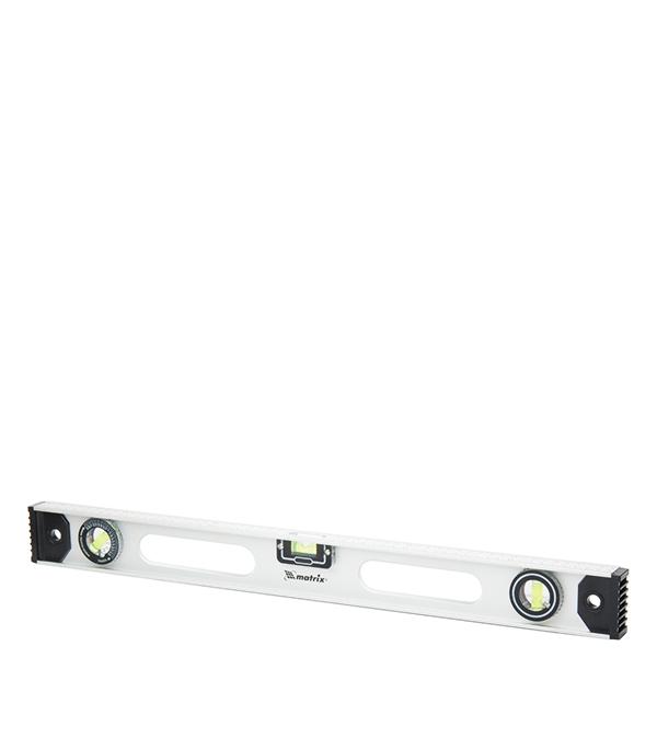 Уровень Matrix 100 см 3 глазка двутавровый алюминиевый уровень 800 мм matrix рельс 34026