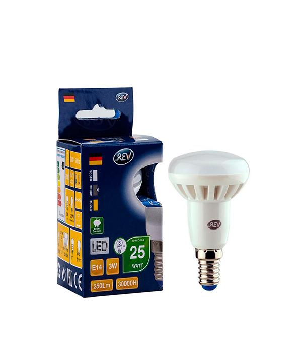Лампа светодиодная лампа REV E14 3Вт 4000K дневной свет R39 лампа светодиодная rev нейтральный свет цоколь g4 2w