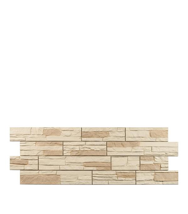 Фасадная панель Docke-R Stein янтарная 1098х400х3.0 мм