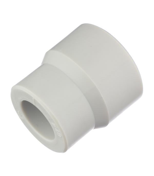 Муфта полипропиленовая переходная 40х32 мм FV-PLAST серая