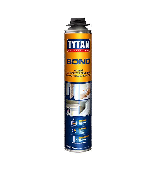 Клей строительный Tytan BondGun многоцелевой 750 мл клей для пенополистирола tytan styro 750 мл