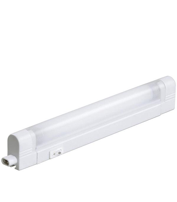Светильник IEK 2001 ЛПО ЭПРА с лампой 1х8 Вт T5 шнуром и выключателем IP20 светильник люминесцентный с эпра ксенон лпо 01 2х36 012 0011236113 144046