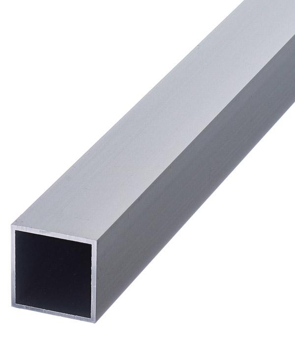 Трубка квадратная алюминиевая 25х25х1,5х2000 мм анодированный