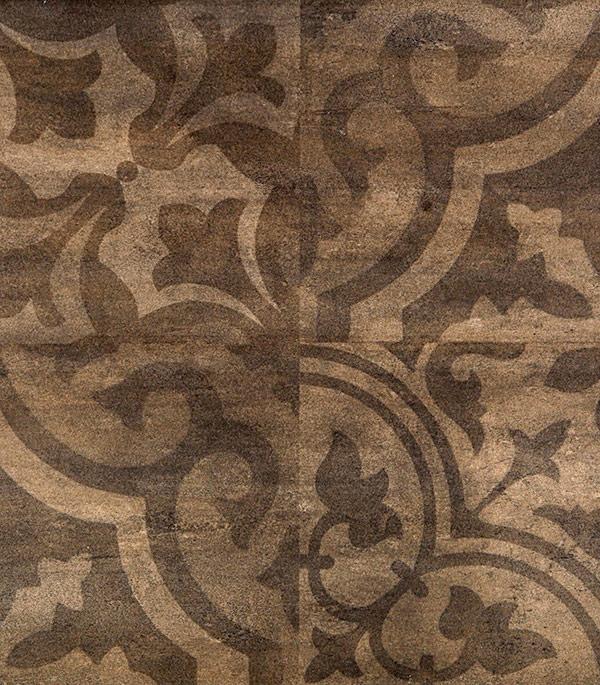 Керамогранит Golden Tile Kendal Ornament 300х600х9 мм коричневый (8 шт=1.44 кв.м) random cartoon ceramic tile decal 1pc