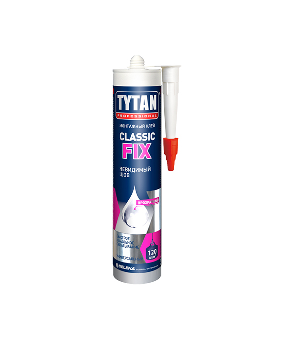 Жидкие гвозди Tytan Classic Fix 310 мл упаковка 12 шт х 310 мл клея монтажного tytan professional classic fix прозрачного