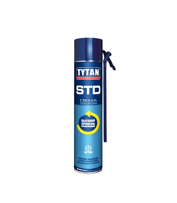 Пена монтажная Tytan O2 STdзимняя 750 мл пена монтажная tytan 65 o2 профессиональная 750 мл