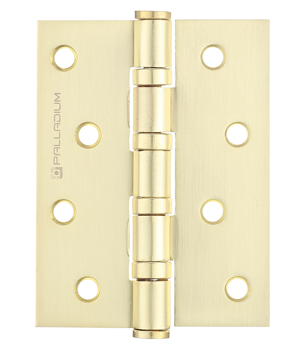Петля универсальная Palladium N 4BB-100 SB матовая латунь 3 мм петля левая palladium n 613 s 4 sb матовая латунь