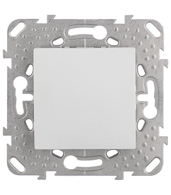 Механизм переключателя одноклавишного Schneider Electric Unica с/у белый механизм переключателя одноклавишного проходного с у schneider electric unica белый