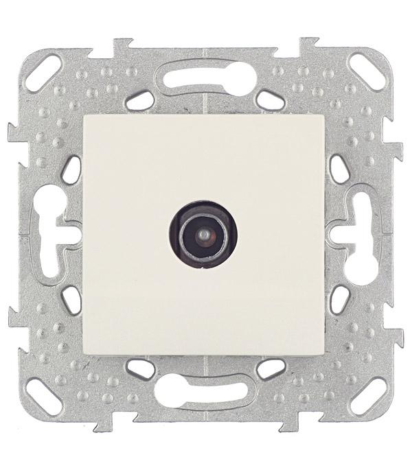 Механизм розетки телевизионной Schneider Electric Unica с/у бежевый механизм выключателя двухклавишного schneider electric unica с у бежевый