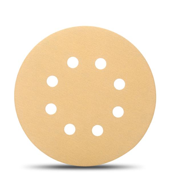 Диск шлифовальный с липучкой Р60 d=125 мм (5 шт) Starcke диск шлифовальный с липучкой р180 d 125 мм перфорированный 5 шт starcke 514