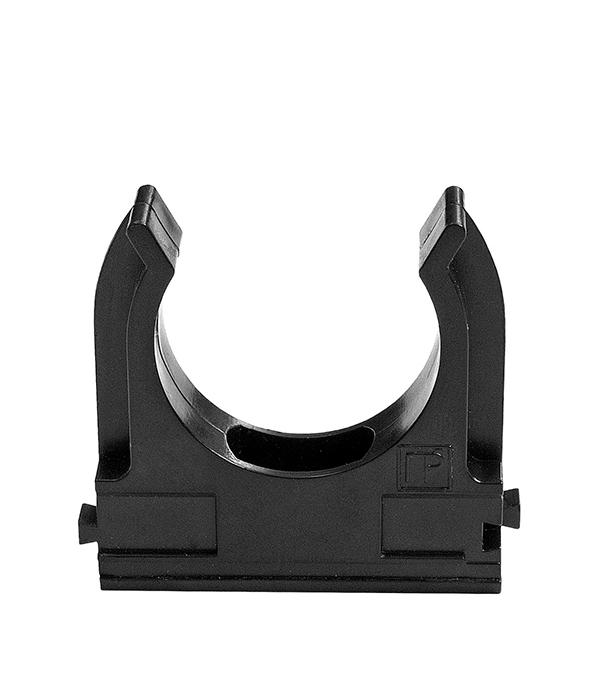 Купить Крепёж-клипса Промрукав для труб черная 40 мм (15 шт), Черный