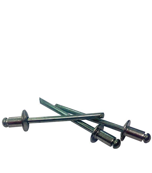 Заклепки вытяжные 3.2х6 мм алюминий/сталь (100 шт)