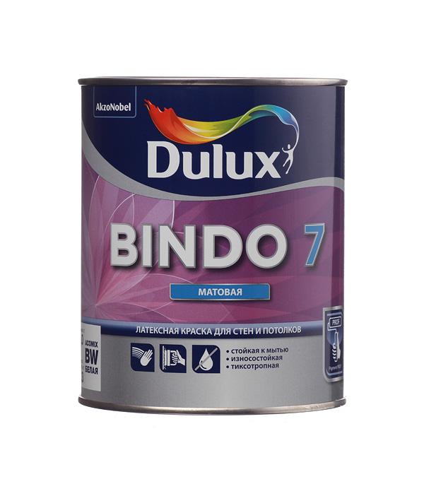 Краска в/д Dulux Bindo 7 основа BW матовая 1 л