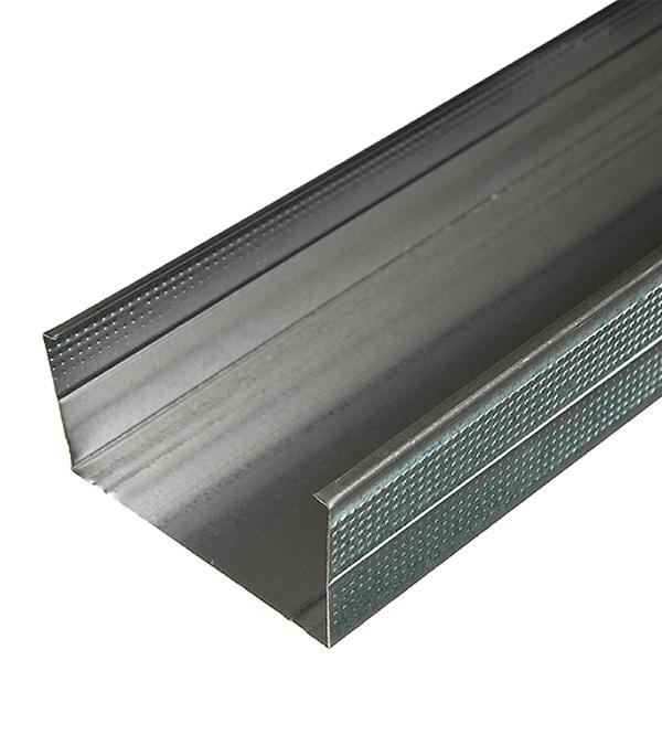 Купить Профиль стоечный Стандарт 100х50 мм 3 м 0.50 мм, Металл