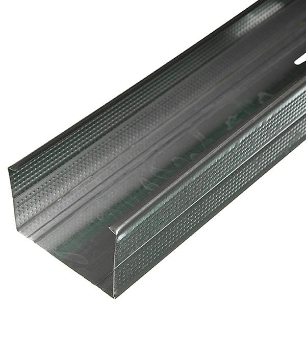 Купить Профиль стоечный Стандарт 75х50 мм 3 м 0.50 мм, Металл