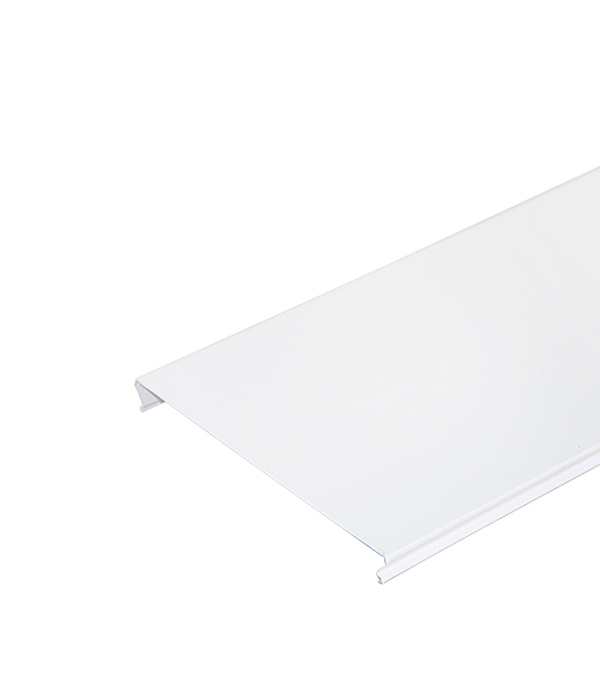 Реечный потолок для туалетной комнаты 100AS 1.35х0.90 м комплект белый матовый