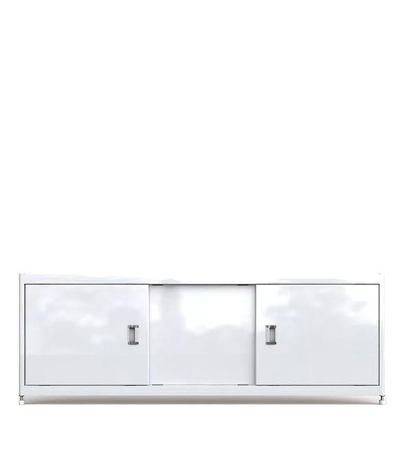 Экран под ванну ALAVANN Steel МДФ купе белый 150см