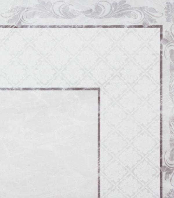 Плитка напольная вставка угол 330х330х8мм Дельма серый (9 шт = 1 кв.м) напольная плитка vitra sandstone кремовый угол 45x45