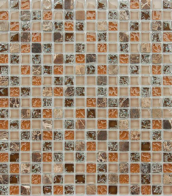 Мозаика из стекла и камня 305x305x8 мм Klondike
