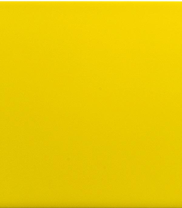 Плитка облицовочная ЕвроКерамика 200х200х7 мм моноколор желтый (22 шт=0.88 кв.м)