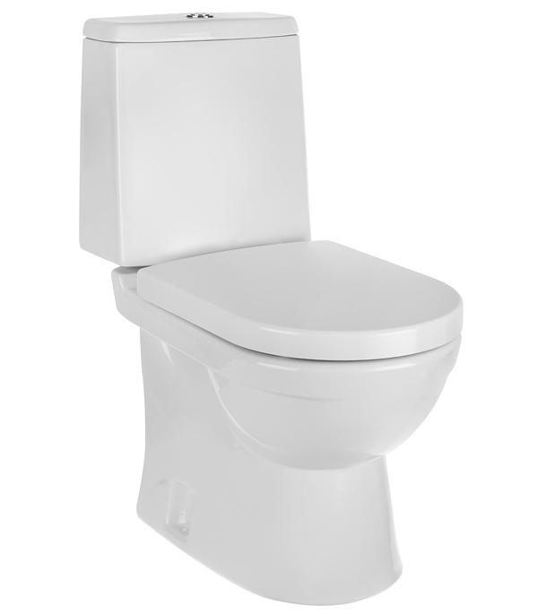 Унитаз-компакт SANITA LUXE Next с горизонтальным выпуском c сиденьем дюропласт микролифт унитаз подвесной sanita luxe аттика
