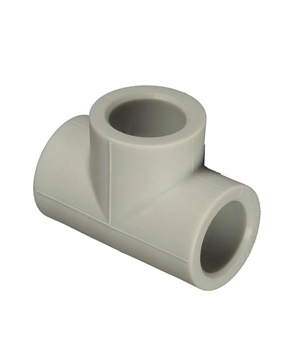 Купить Тройник полипропиленовый 32 мм FV-PLAST серый