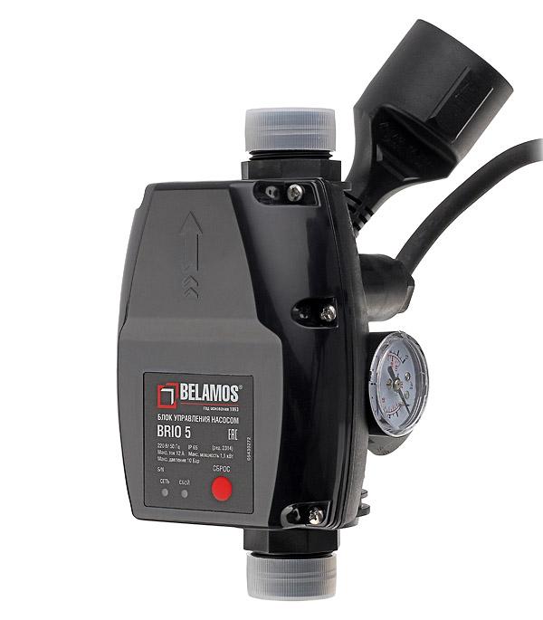 Блок автоматики Belamos Brio-5 с манометром и кабелем блок автоматики для газовых генераторов briggs