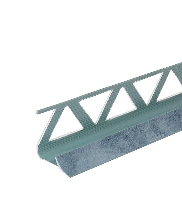 Уголок ПВХ для кафельной плитки внутренний 9х2500мм голубой нефрит уголок пвх rico moulding 20х20х2700мм бук натуральный