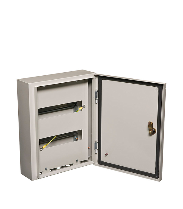 Щиток навесной IEK ЩРН для 24 модулей металлический IP54 iek mkm14 n 18 31 z корпус металлический щрн 18з 1 36 ухл3 ip31
