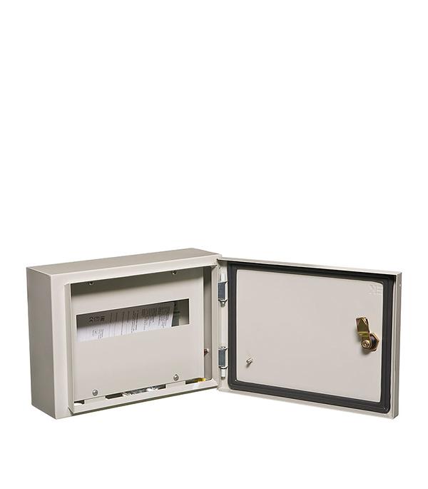 Щиток навесной IEK ЩРН для 12 модулей металлический IP54 iek mkm14 n 18 31 z корпус металлический щрн 18з 1 36 ухл3 ip31