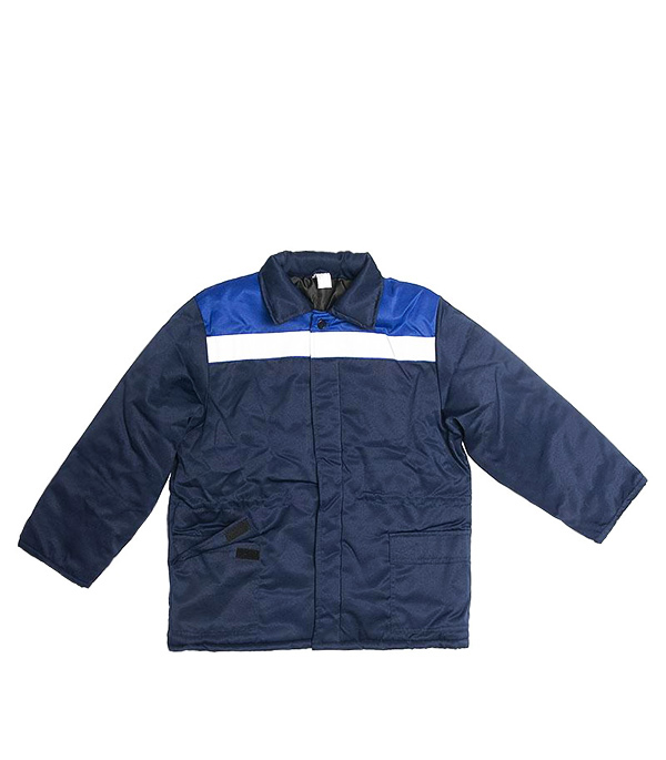 Куртка утепленная Стел Север темно-синяя размер 52-54 (104-108) рост 182-188