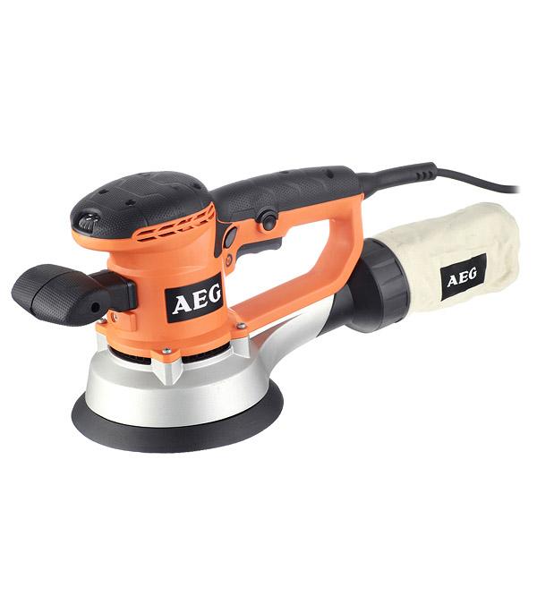 Шлифмашина эксцентриковая AEG EX 150 ES 440 Вт 150 мм шлифмашина эксцентриковая ex 150 es 440 вт 150 мм aeg