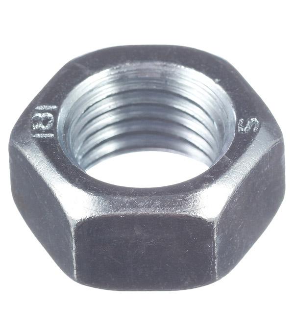 Гайки оцинкованные М20 DIN 934 (1 шт) гайки оцинкованные м20 din 934 7 шт