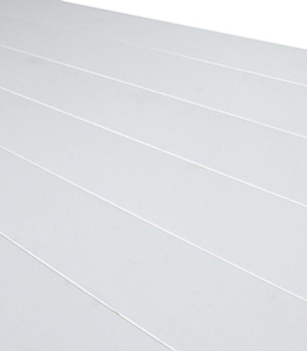 Реечный потолок для туалетной комнаты 1.35х0.90 м комплект белый жемчуг