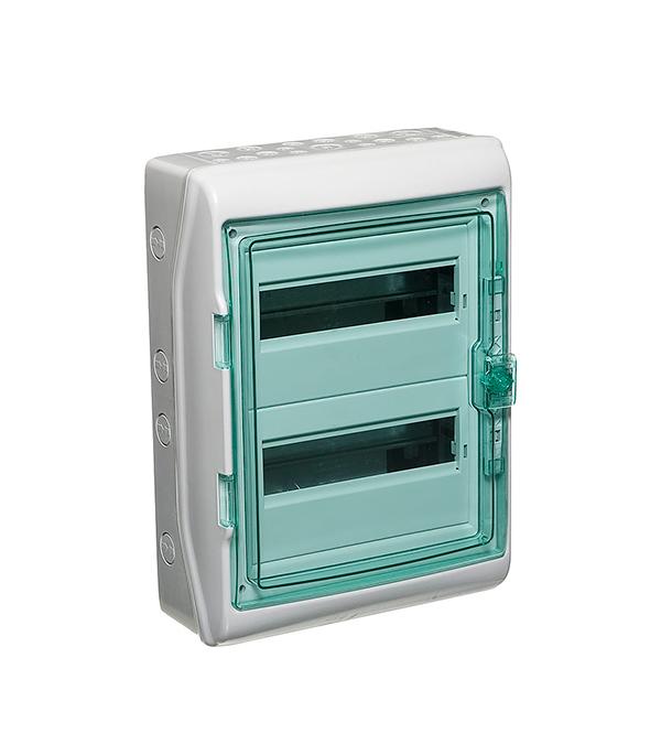 Щиток навесной Schneider Electric Kaedra для 24 модулей пластиковый IP65 бокс для автоматических выключателей о у 8 авт mono electric