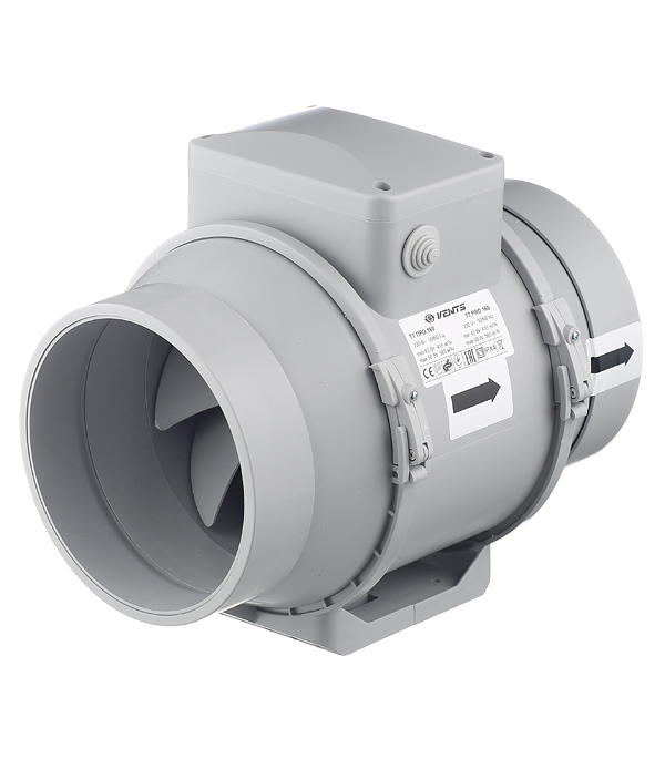 Вентилятор канальный центробежный d160 мм Вентс ТТ Про белый цена