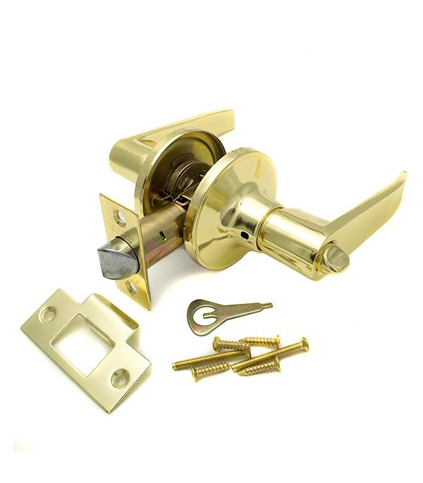 Ручка-защелка дверная Guli 808 ВР ВК золото с заверткой полочная акустика canton gle 426 2 white