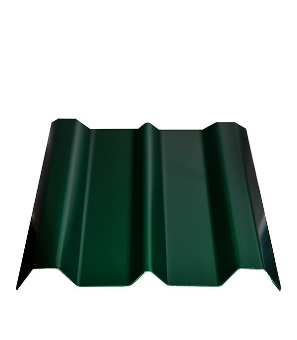 Купить Евроштакетник толщина 0, 4 мм 100х1800 мм зеленый, Зеленый, Сталь